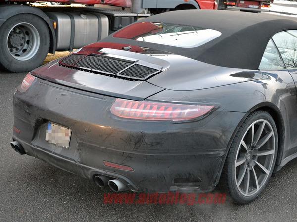 """Porsche: la 911 bientôt équipée d'un """"flat 6 turbo basse consommation""""?"""