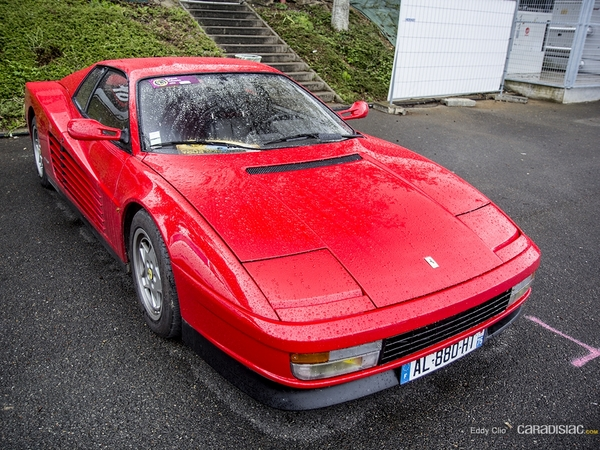 Photos du jour : Ferrari Testarossa (Classic Days)