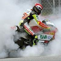 "Moto GP - Rossi: ""Simoncelli doit se montrer plus prudent"""