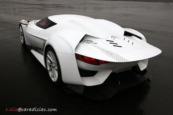 Une petite série de la Citroën GT Concept toujours d'actualité !