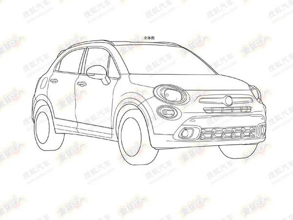 Future Fiat 500x Cest Elle