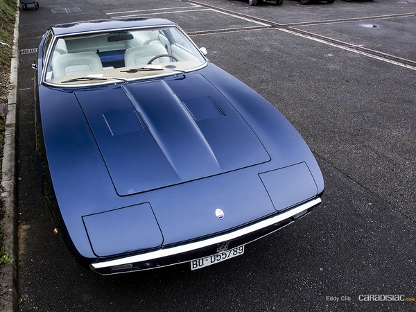 Photos du jour : Maserati Ghibli SS (Classic Days)