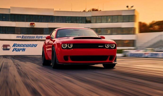 La Dodge Challenger Demon de 840 ch à moins de 90000€