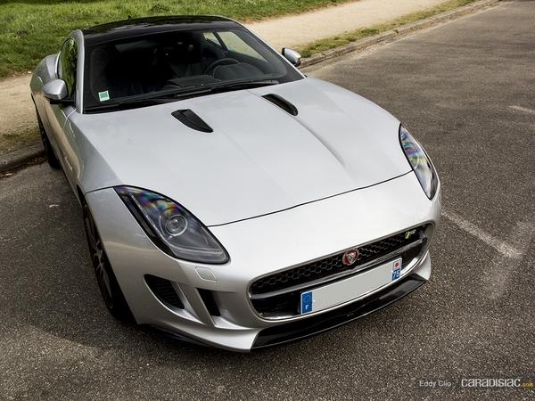 Photos du jour : Jaguar F-Type R Coupé