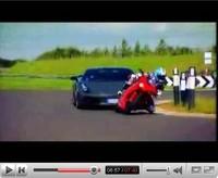 La vidéo du jour : Lamborghini Gallardo Superleggera vs Ducati 1098