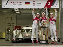 Le Mans 2011 - La 10ème victoire d'Audi en 10 photos