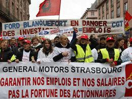 Site GM de Strasbourg : soit les salariés abandonnent des acquis sociaux, soit l'usine ferme