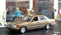 Miniature : 1/43ème - MERCEDES 500 SE