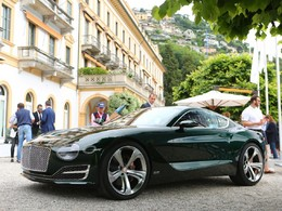 Villa d'Este 2015 : le concept Bentley EXP 10 Speed 6 couronné