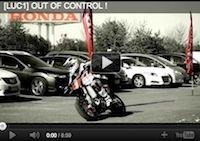 """Du supermotard autrement: Bidart est """"Out of control"""" [vidéo]"""
