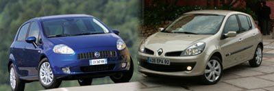 Renault Clio vs Fiat Grande Punto : troisièmes du nom