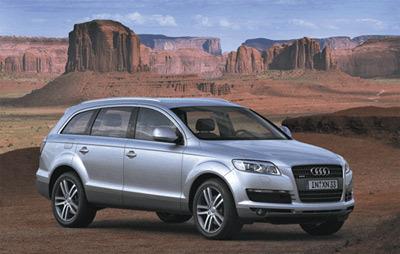 Audi Q7 : Les anneaux entrent   dans le bal des SUV