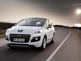 Mondial de Paris 2012 - La Peugeot 3008 HYbrid4 évolue
