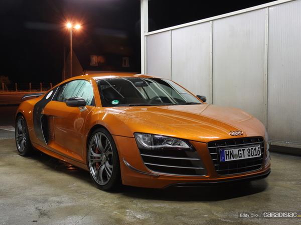 Photos du jour : Audi R8 GT (Le Mans)