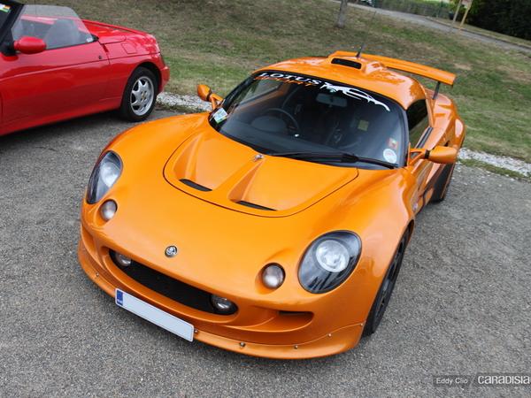 Photos du jour : Lotus Exige R (Le Mans)