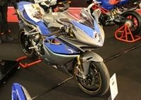 "En direct du salon de la moto 2011 : MV Agusta FA RR ""Ecole de l'aviation de chasse"""