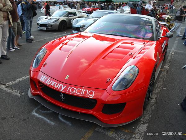 Photos du jour : Ferrari 599XX (Parade des Pilotes)