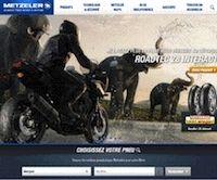 Metzeler: un nouveau site en ligne