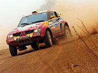 Por Las Pampas : les Mitsubishi loin devant
