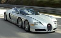 Bugatti Veyron: pourquoi ne pas lui ajouter deux roues?