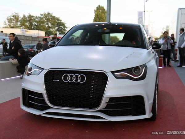 Photos du jour : Audi A1 Clubsport Quattro (Expo Le Mans)