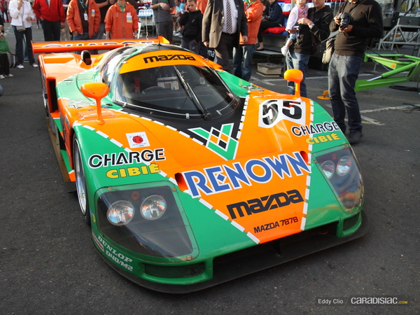 Photos du jour : Mazda 787B