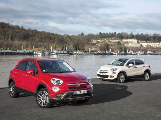 Fiat lance de nouvelles versions sur le 500X