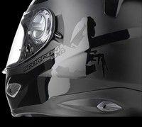 Nouvelle déco pour le casque Scorpion Exo-1000: Sublime...