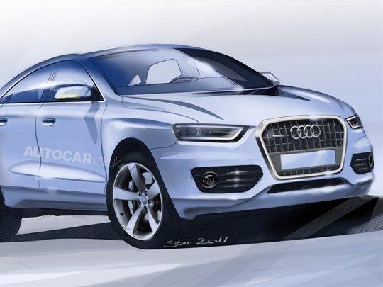 Le futur Audi Q4 selon Autocar