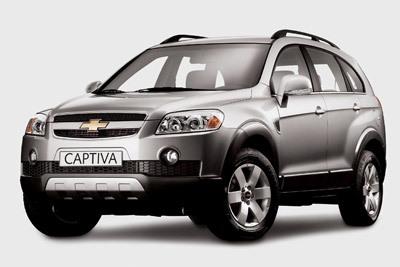 Chevrolet Captiva: petit nouveau sur le segment