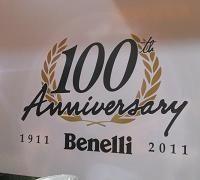 En direct du Salon de la moto - Bennelli: Cent ans et abonné à la TNT