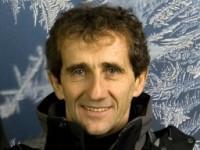 GP de France: Alain Prost rencontre Nicolas Sarkozy...