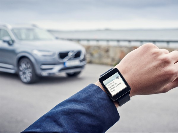 Vous pourrez bientôt contrôler votre Volvo grâce à votre montre