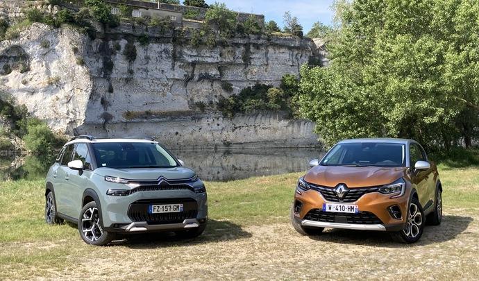 Comparatif vidéo - Citroën C3 Aircross (2021) VS Renault Captur : on refait le match