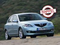 Mazda rappelle 91 588 modèles 3 et 3 MPS : risque de défaillance de l'essuie-glace
