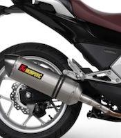 Nouveauté 2013: Akrapovic pour Honda Intégra