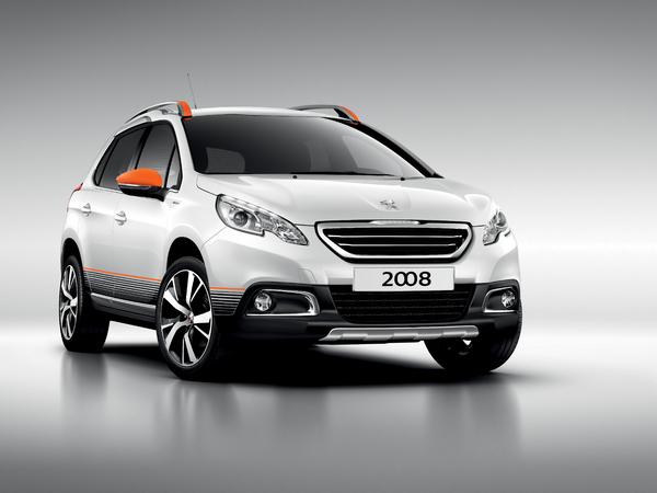Peugeot 2008 Urban Cross: limité et coloré pour 22800 €