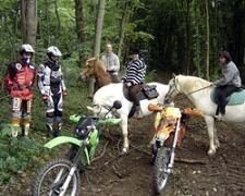 Sondage IPSOS sur la pratique de la moto dans les chemins en France