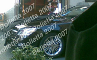 La nouvelle Mercedes SL sans camouflage