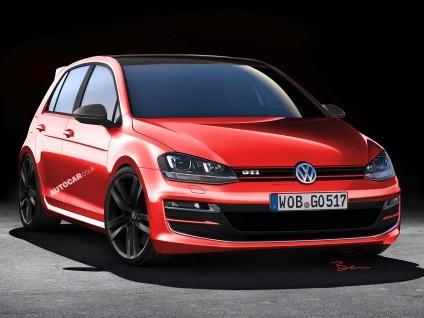"""Future Volkswagen Golf """"Carbon GTI"""": 200 kg de moins!"""