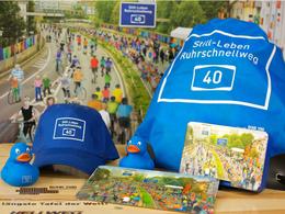 """Opération """"Still-Leben"""" en Allemagne : piétons et cyclistes ont chassé les autos sur un tronçon d'autoroute !"""