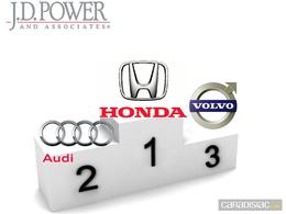 Enquête de satisfaction J.D. Power 2011 : Honda de nouveau en tête, suivi par Audi et Volvo