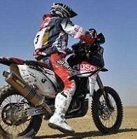Rallye des Pharaons : 4ème étape,  Joan Barreda au dessus du lot