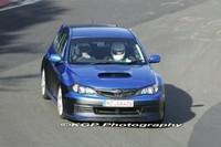 Future Subaru Impreza WRX STI sur le Ring' !