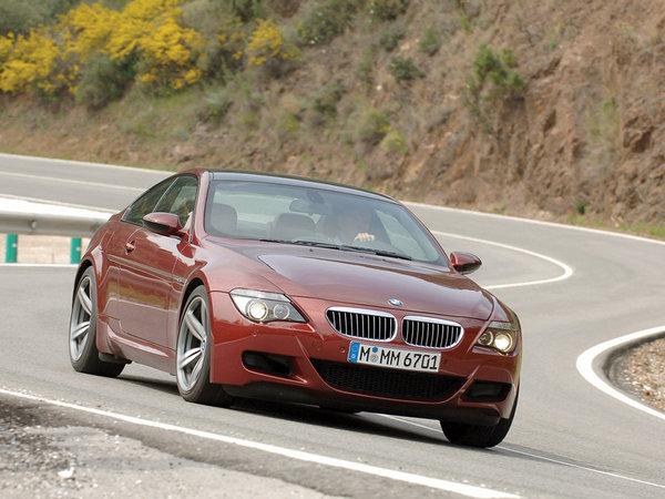 La BMW M6 tire sa révérence