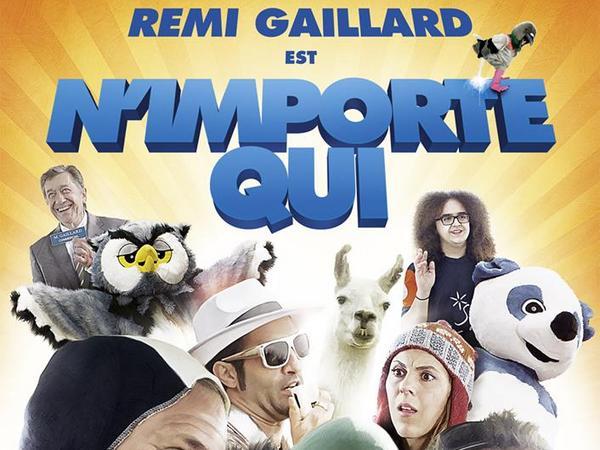 Remi Gaillard est un pigeon (et il sort son film)