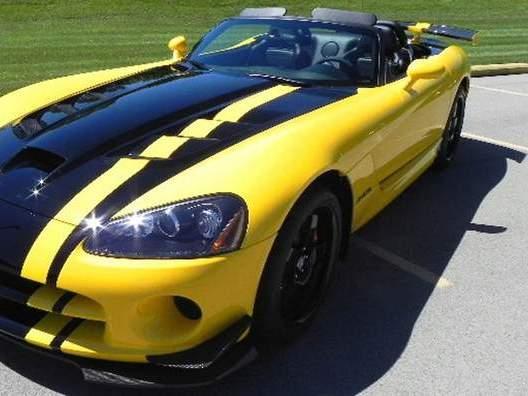 Une Dodge Viper ACR Roadster ? Oui, c'est possible
