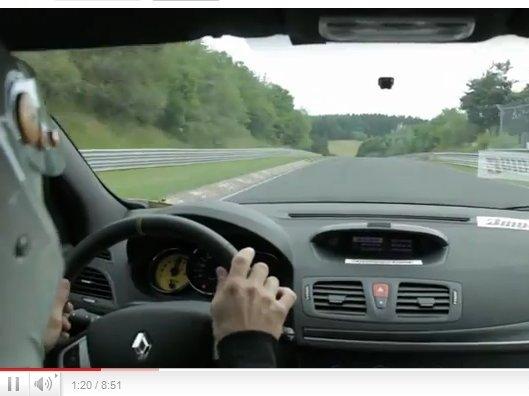 [vidéo] Les 8'07''97 de la Renault Mégane R.S Trophy