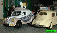 "Miniature : Renault 4cv ""La Redoute"""