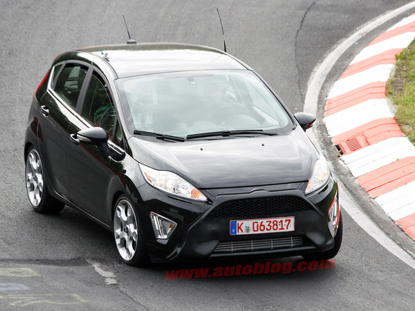 La nouvelle Ford Fiesta ST surprise en test